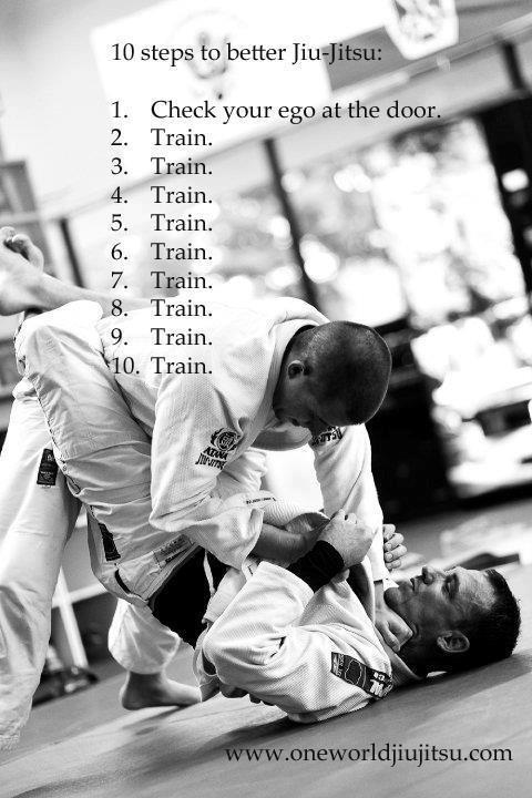10 steps to better Jiu Jitsu