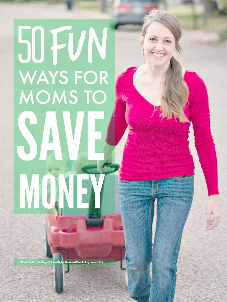 Who said money saving was dull? Loads and loads of thrifty but fun ideas to help you save money as a mom ...