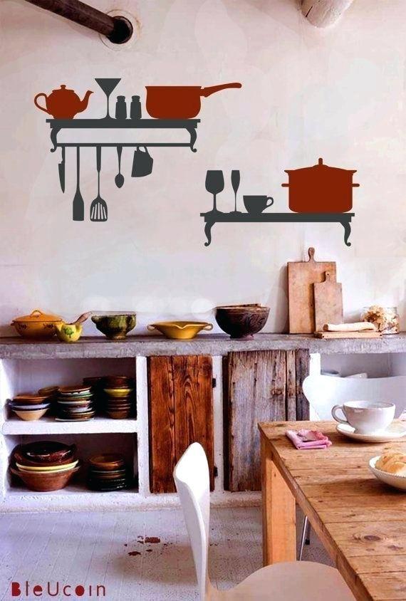 Kitchen Wall Decor Ideas Diy And Unique Wall Decoration Kitchen Wall Decals Kitchen Wall Design Kitchen Wall Decor