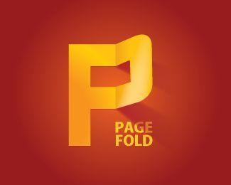 Page fold logo