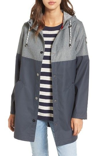 Free shipping and returns on Halifax Colorblock Rain Jacket at Nordstrom.com. A rugged jacket to see you through wet and windy spring weather features a modern two-tone design with a water-resistant shell, and a mesh-lined hood with a protective brim.