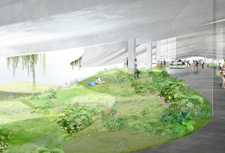 石上純也のチームによる台湾の金門港フェリーターミナル設計コンペの勝利案 | architecturephoto.net | 建築・デザイン・アートの新しいメディア。アーキテクチャーフォト・ネット