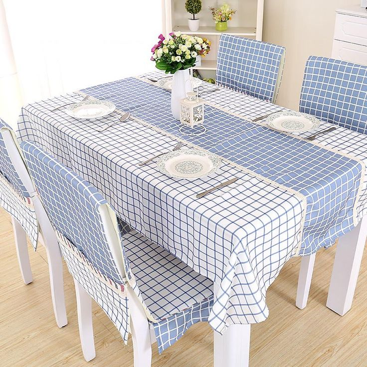 Manteles para mesa redonda mantel engomado de algodn x cm for Manteles de