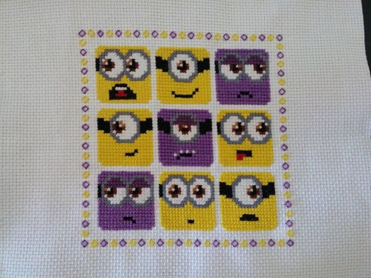 Minion Cross Stitch