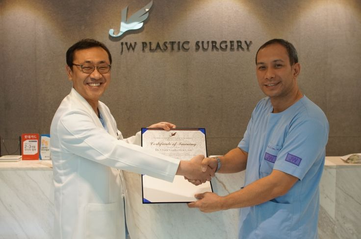Dr. Charle Magne H. Gualber To R.N., M.D. from Philippine was trained  in JW Plastic Surgery Korea on 14th March 2014.  JW Plastic Surgery Korea  598-6 Shinsa, Gangnam, Seoul, South Korea Tel : +82-2-541-5114  Mobile : +82-10-7195-5114 (English Hotline) Fax : +82-2-542-5110  Kakao Talk ID : jwps E-mail : jw_beauty@naver.com Website : www.jwbeauty.net