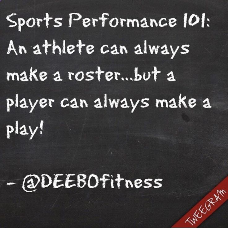 Tainers have become choreographers teaching athletes to do steps and numbers that look cool, things like that don't correlate to improving at the sport. Get better at your sport by playing your sport. Use the gym and drills to compliment your needs. Don't get lost in the gym and drills! #sports #sportsperformance #athlete #athleticism #gym #training #drills #football #baseball #basketball #soccer #softball #track #field #lacrosse #cricket #improve #repetition #execute #opportunity