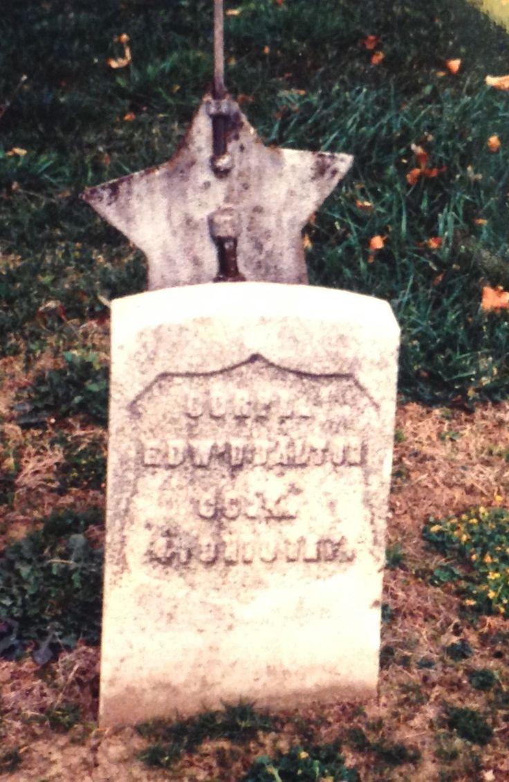 Corp Edw'd Dalton - my paternal great great grandfather.