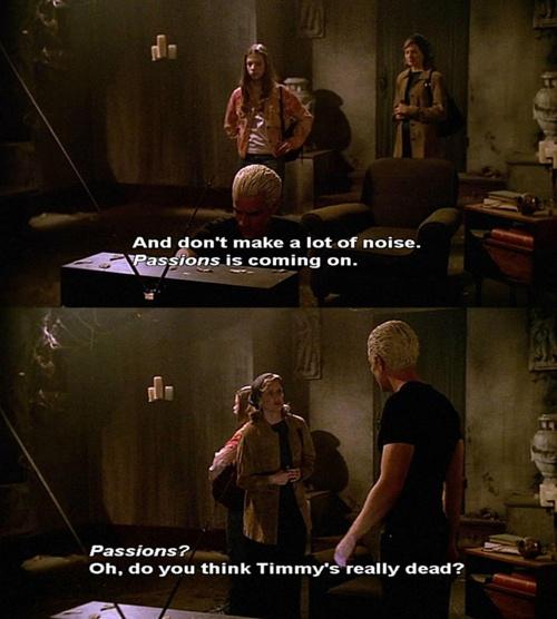 Buffy the vampire slayer and soaps essay