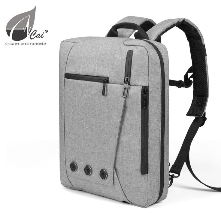 Hybrid briefcase and backpack for MacBook and Laptops, perfect commuter bags.