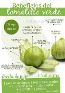 Beneficios del tomatillo