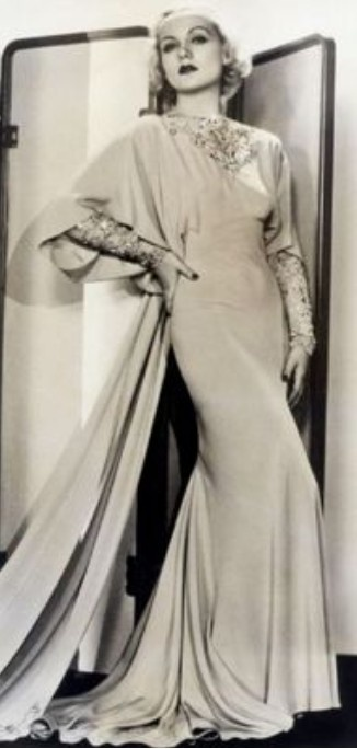Carole Lombard, No Man of Her Own, 1932 (gown by Travis Banton)