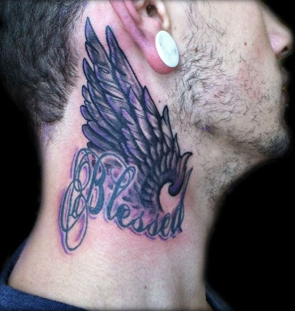 50 Awesome Neck Tattoos | Cuded