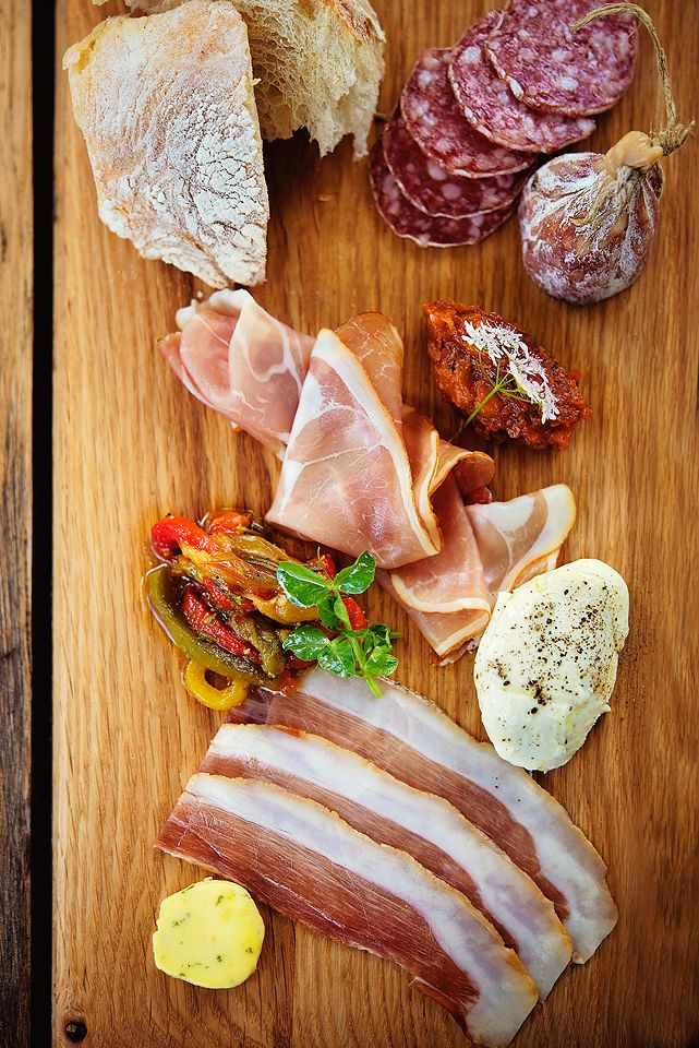 Cured charcuterie board at Peddlars & Co. Lunch anyone?