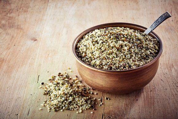 Proteinas vegetales semillas de cáñamo