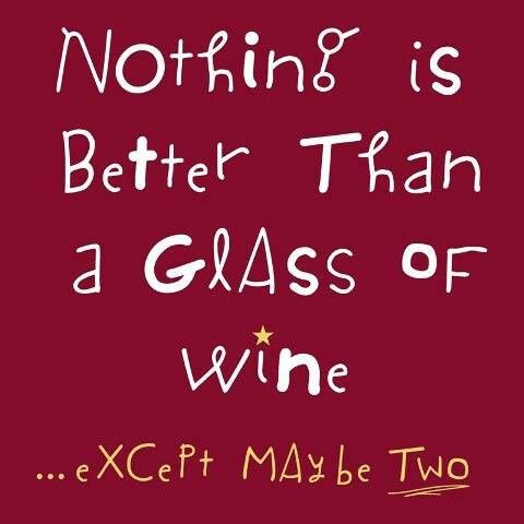Nothing is better than a glass of #wine...or maybe the BOTTLE.