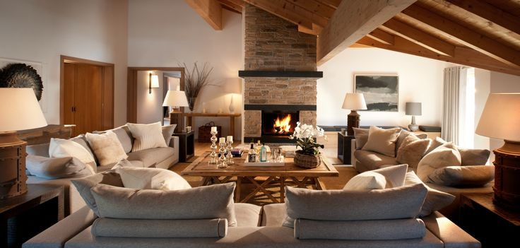 A private family chalet in Klosters, Switzerland...