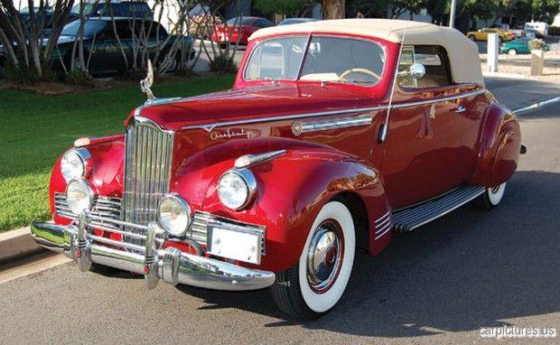 1942 Packard Super Eight 160 Convertible Victoria.