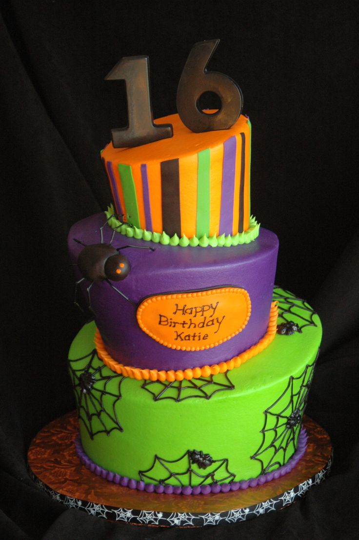 7 best Halloween bday cakes images on Pinterest
