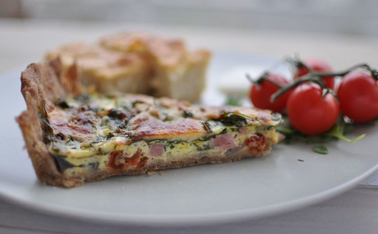 Pai med skinke og ruccola - Kvardagsmat