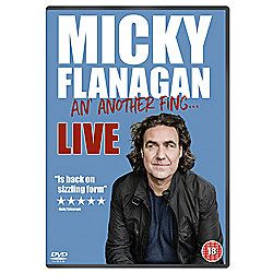 Micky Flanagan: An' Another Fing DVD