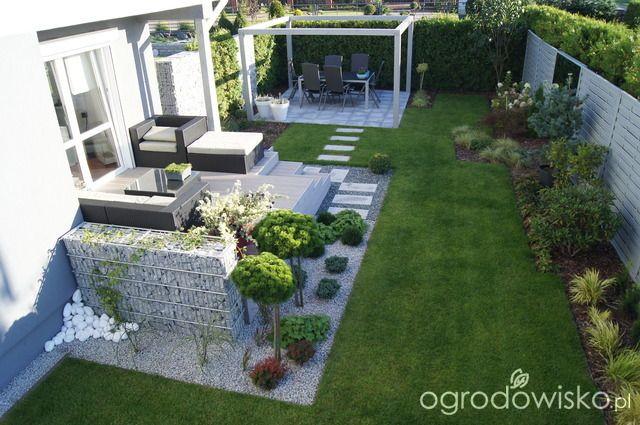 Ogród niby nowoczesny...