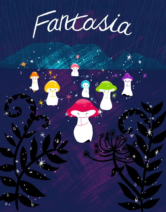 Fantasia. One of my most favorite films to watch during December as a child. It's soooo Christmasy to me.