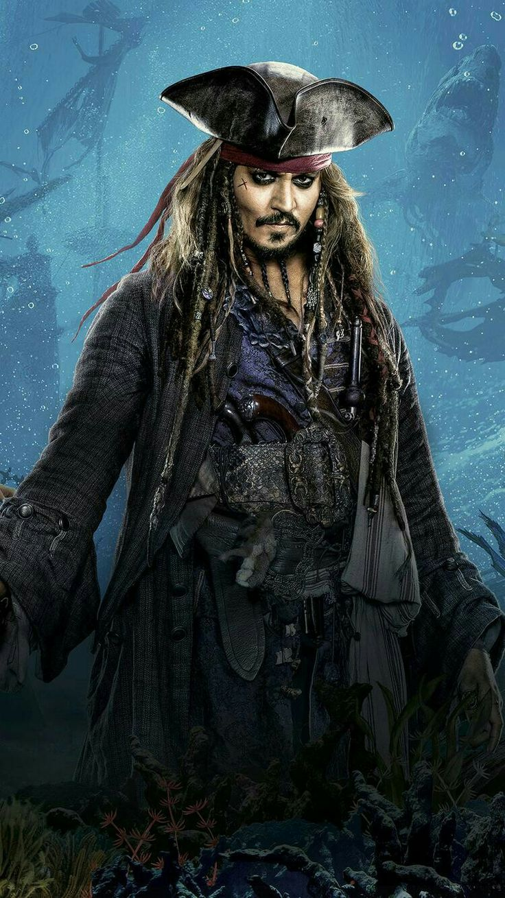 Johnny Depp❤❤❤Captain Jack Sparrow