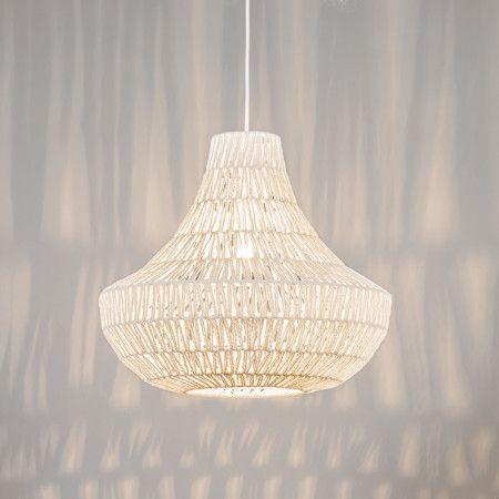 Lampa wisząca Lina Cono 50 biała
