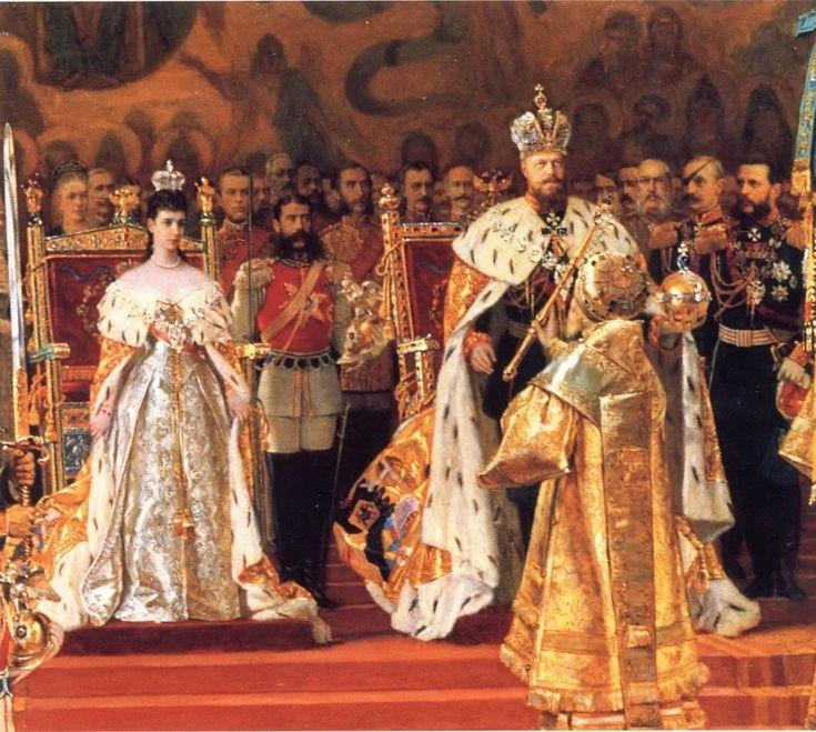 Coronation Day of Tsar Alexander III & Maria Feodorovna, May 27, 1883.