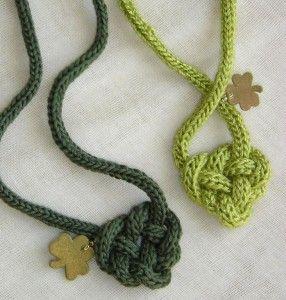 Celtic Heart Knot Pattern: http://knitting.myfavoritecraft.org/cute-knitting-ideas-patterns/knitting-earrings/