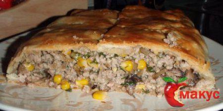 Техасский кукурузный пирог с говядиной