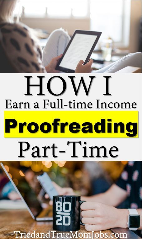 How to Become a Proofreader and Make A Full-time Income Part-time in 2019