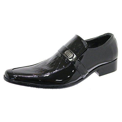 Robelli Designer Herren Kunstlackleder & Diamantenmuster Smart Halbschuhe Formelle Schuhe - http://on-line-kaufen.de/robelli/robelli-designer-herren-kunstlackleder-smart