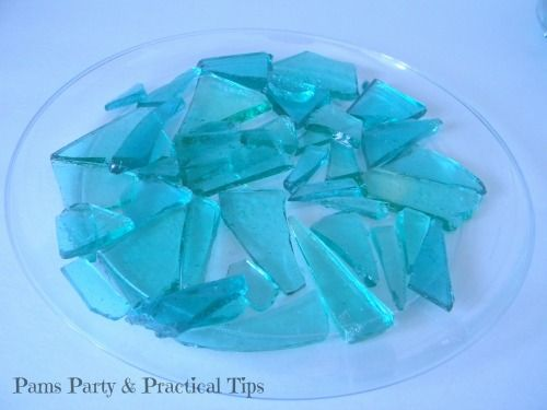 Edible 'glass' for cakes - I will be using for frozen castle cake.