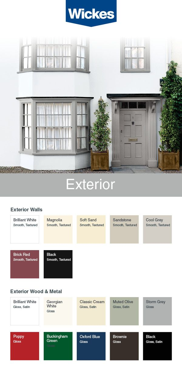 Tough And Long Lasting Wickes Masonry Paint Is Available In A