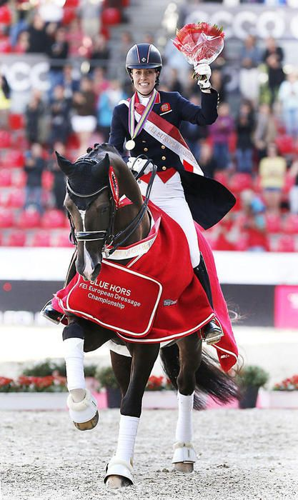Charlotte Dujardin and ValegroPhoto by Jacques Toffi