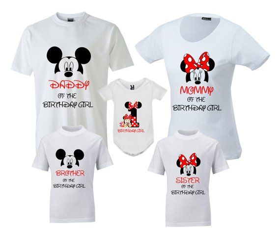 Birthday Family Shirts Disney T Shirt Mickey Mouse