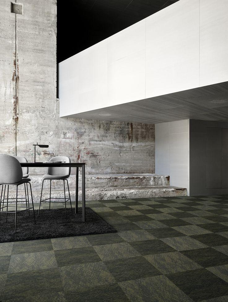 Rawline Scala CREPE design in green + Soft Dreams Lux rug. #green #carpet #interiors  #flooring #egecarpets
