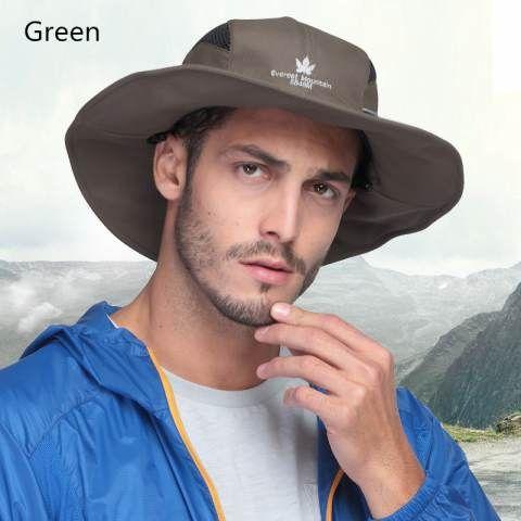 Outdoor travel bucket hats for men UV package fishing hat