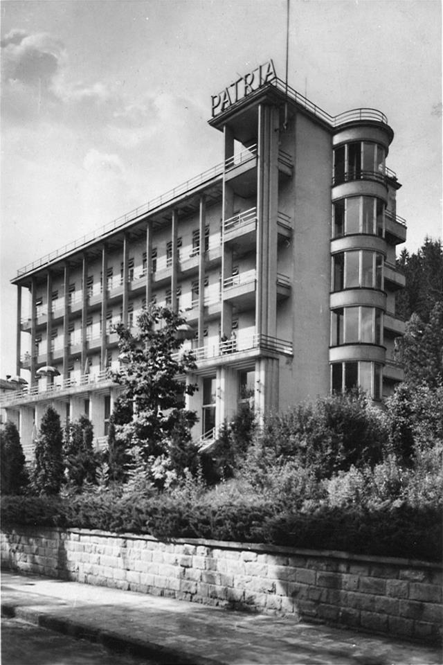 Bohdan Pniewski, Krynica Zdrój, 1933-34