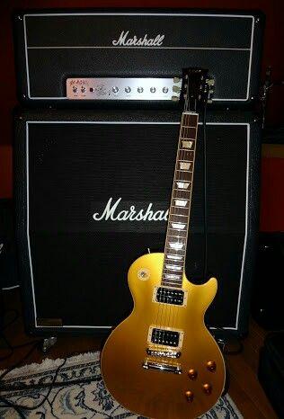 #Marshall#gibsongoldtop#