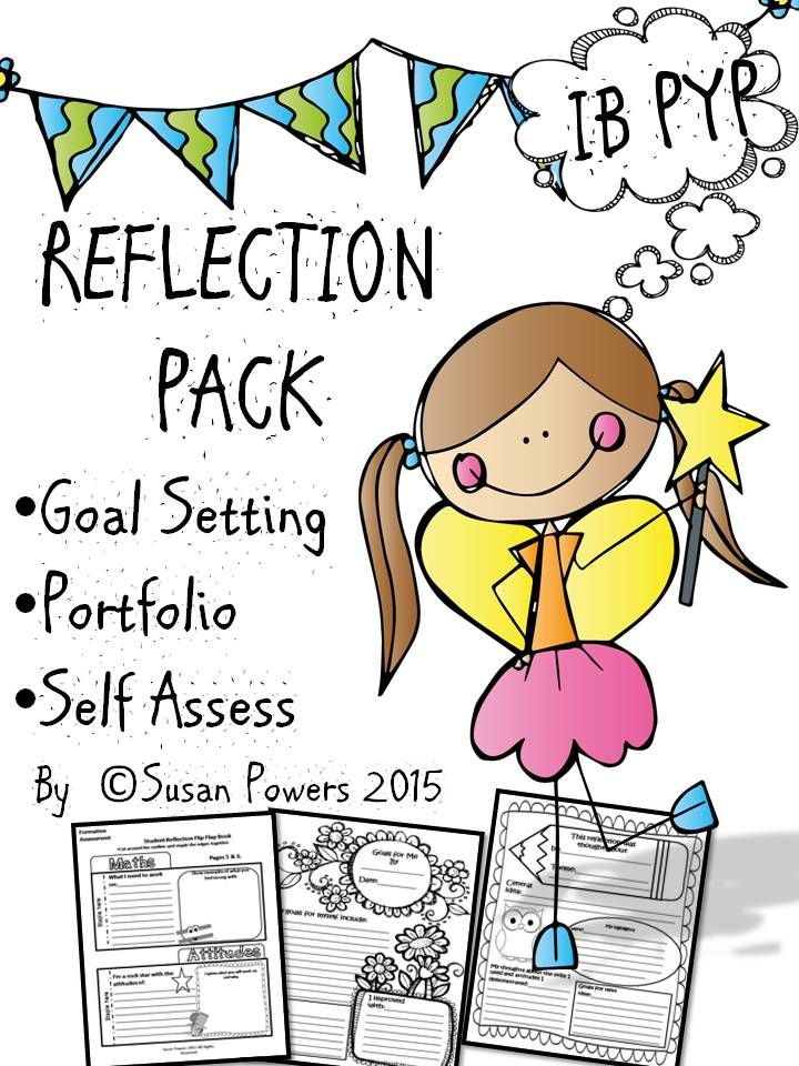 Encourage goal setting and reflection with this fun set of worksheets and flip book.
