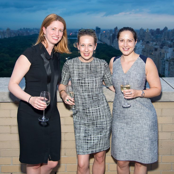 Megan Driscoll (L) and guests attend the EvolveMKD Summer Soiree at Park Lane Hotel on August 10, 2016 in New York City.