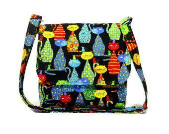 fabric crossbody bag – Etsy