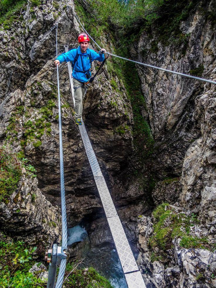 Klettersteige - eine Übersicht über die besten Touren http://www.via-ferrata.de