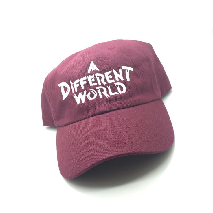 A Different World TV Show Maroon Dad Cap Hat Exclusive Retro Rare Vtg by BrooklynVintageNYC on Etsy https://www.etsy.com/listing/386667216/a-different-world-tv-show-maroon-dad-cap
