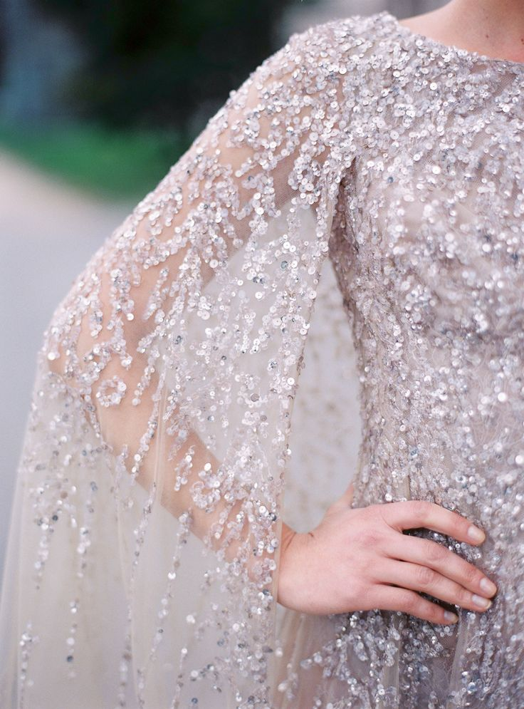 View entire slideshow: Bedazzled Wedding Dresses on http://www.stylemepretty.com/collection/2061/