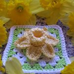 iCrochet...this site is AMAZING! Page after page of beautiful examples of crochet!: Granny Projects, Crochet Granny, 366 Granny S Projects, Squares Projects, Crochet Flower, Crochet Motif, Crochet Squares, Granny Squares, Granny S Projects 2012