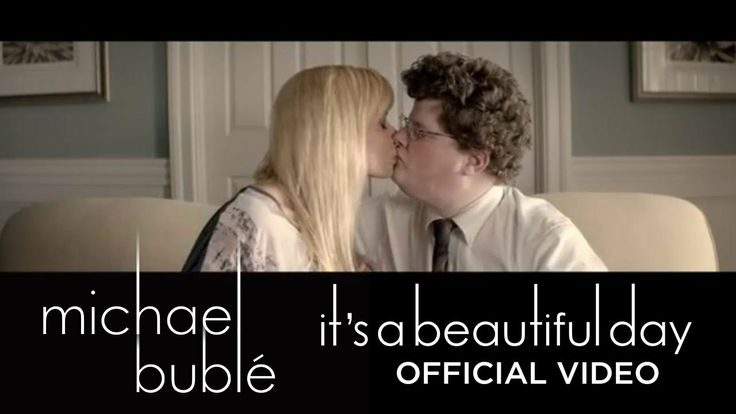 "Michael Bublé - ""It's A Beautiful Day"" [Official Music Video]  Hahahahahahahahhahahaha!!!!!"