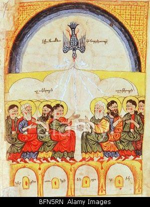 pentecost painter crossword